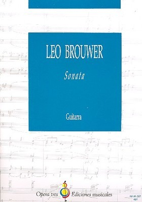 BROUWER   SONATA FOR GUITAR SOLO