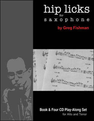 HIP LICKS FOR SAXOPHONE BK/4CDS