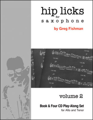 HIP LICKS FOR SAXOPHONE V2 BK/4CDS