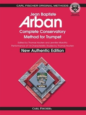ARBAN   COMPLETE CONSERVATORY METHOD TRUMPET BK/CD