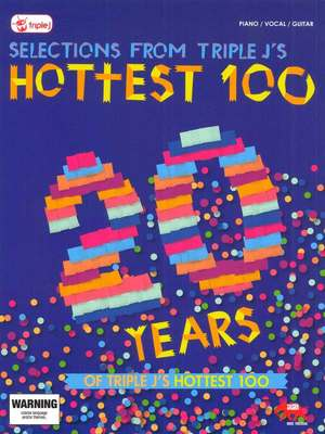 TWENTY YEARS OF TRIPLE J S HOTTEST 100 PVG