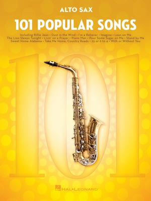 101 Popular Songs for Alto Sax