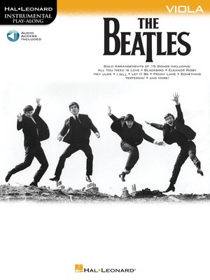 BEATLES INSTRUMENTAL PLAYALONG VIOLA BK/OLA
