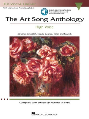 ART SONG ANTHOLOGY HIGH VOICE BK/OLA