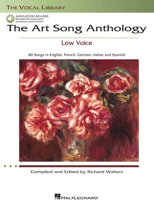 ART SONG ANTHOLOGY LOW VOICE BK/OLA