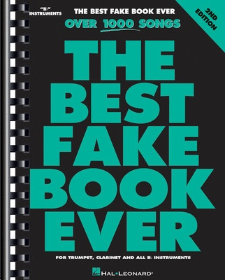 Cheap music books best fake book ever b flat 2nd edition fandeluxe Images
