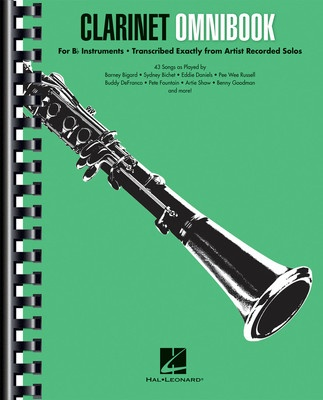 Clarinet Omnibook for B-flat Instruments