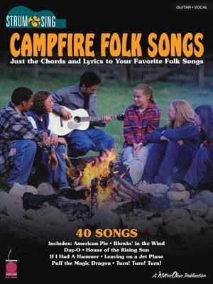 Campfire Folk Songs Strum Sing Chords Lyrics Cheap Music Books