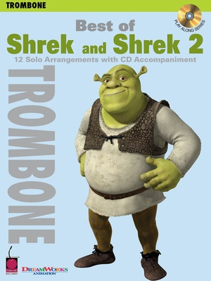 BEST OF SHREK AND SHREK 2 BK/CD TROMBONE