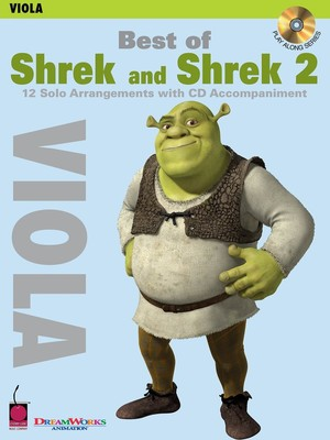 BEST OF SHREK AND SHREK 2 BK/CD VIOLA