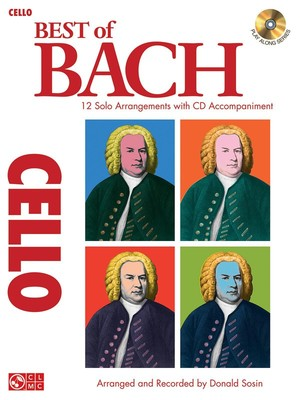BEST OF BACH FOR CELLO BK/CD