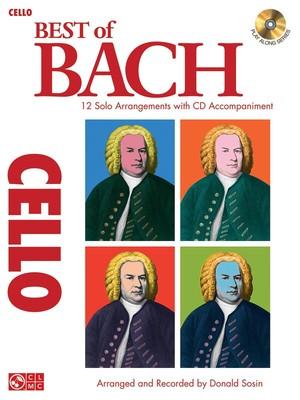 BEST OF BACH FOR CELLO BK/CD
