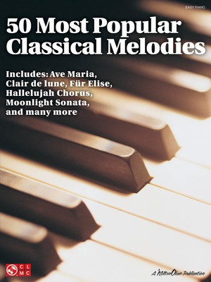 50 MOST POPULAR CLASSICAL MELODIES EASY PIANO