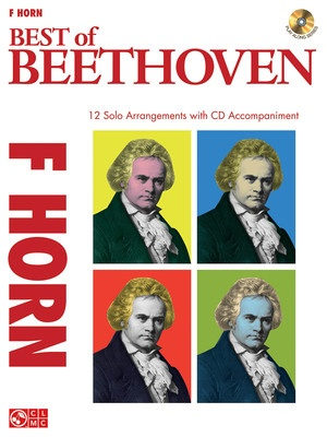 BEST OF BEETHOVEN FRENCH HORN BK/CD