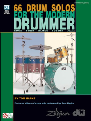 66 DRUM SOLOS FOR THE MODERN DRUMMER BK/DVD