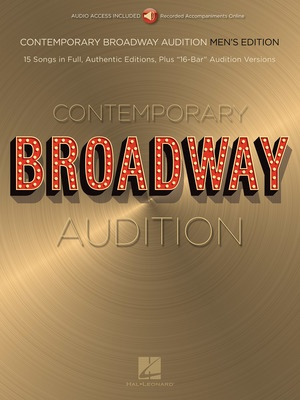 Contemporary Broadway Audition: Men's Edition