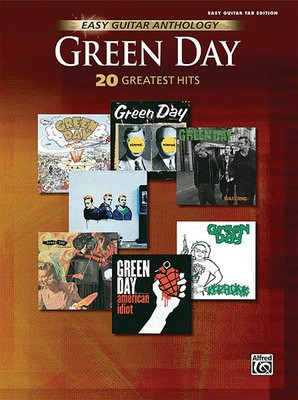GREEN DAY EASY GUITAR ANTHOLOGY GTR TAB
