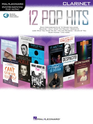 12 Pop Hits - Clarinet