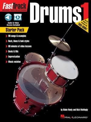 FastTrack Drums Method Starter Pack - Hal Leonard Australia