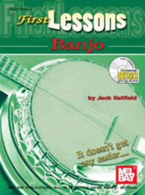 FIRST LESSONS BANJO BK/CD