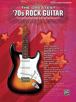GREATEST 70S ROCK GUITAR GTR TAB
