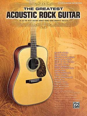 GREATEST ACOUSTIC ROCK GUITAR GTR TAB