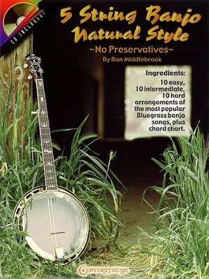 5 STRING BANJO NATURAL STYLE BK/CD