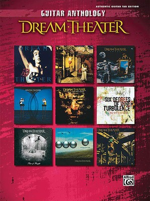 DREAM THEATER GUITAR ANTHOLOGY