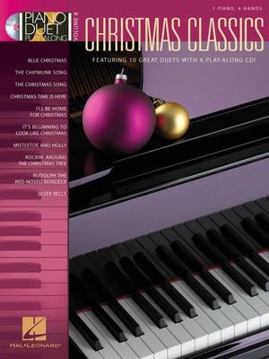 CHRISTMAS CLASSICS PIANO DUET PLAY ALONG CD V8