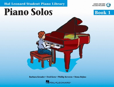 Piano Solos - Book 1 - Book with Audio Online