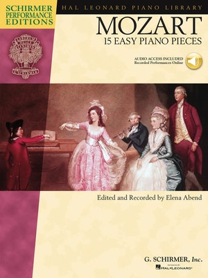 15 EASY PIANO PIECES  MOZART  SPE BK/CD