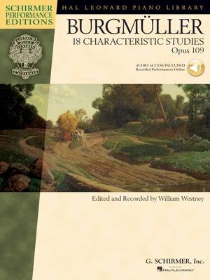 18 CHARACTERISTIC STUDIES OP 109 SPE BK/CD