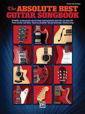 Cheap music books absolute best guitar songbook gtr tab fandeluxe Images