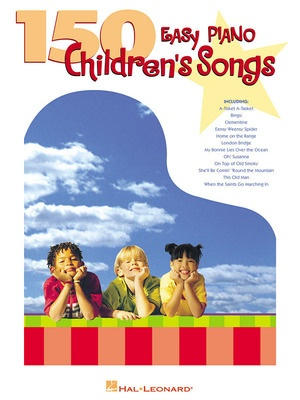 150 Easy Piano Children's Songs