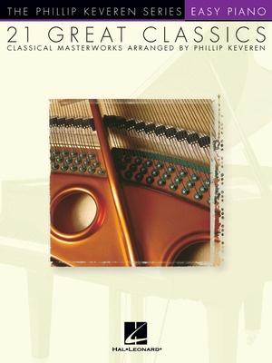 21 GREAT CLASSICS EASY PIANO
