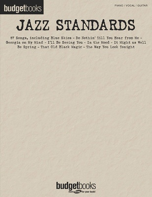BUDGET BOOKS JAZZ STANDARDS PVG