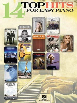 14 Top Hits for Easy Piano