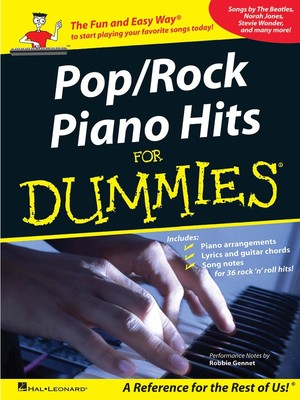 Cheap music books pop rock piano hits for dummies pvg fandeluxe Images