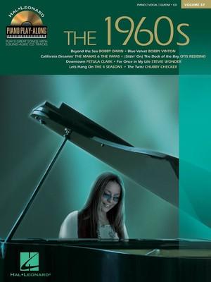 1960S PIANO PLAY ALONG BK/CD V57