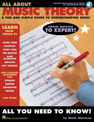 ALL ABOUT MUSIC THEORY BK/CD