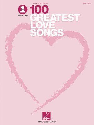 100 GREATEST LOVE SONGS EASY PIANO VH1