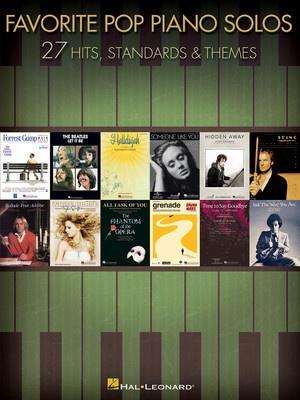 Favorite Pop Piano Solos - Hal Leonard Australia