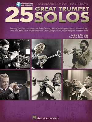25 GREAT TRUMPET SOLOS BK/CD
