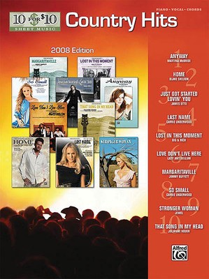 10 FOR 10 COUNTRY HITS 2008 EDITION PVG