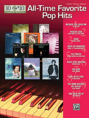 10 FOR 10 ALL TIME FAVORITE POP HITS PVG