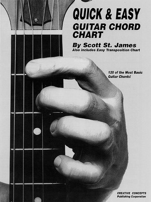 QUICK & EASY GUITAR CHORD CHART
