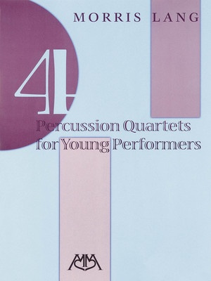 4 Percussion Quartets for Young Performers