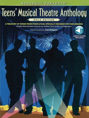 TEENS MUSICAL THEATRE ANTH MALE BK/OLA