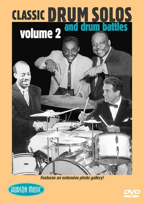 CLASSIC DRUM SOLOS AND BATTLES VOL 2 DVD