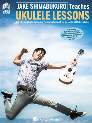JAKE SHIMABUKURO TEACHES UKULELE LESSONS BK/OLV